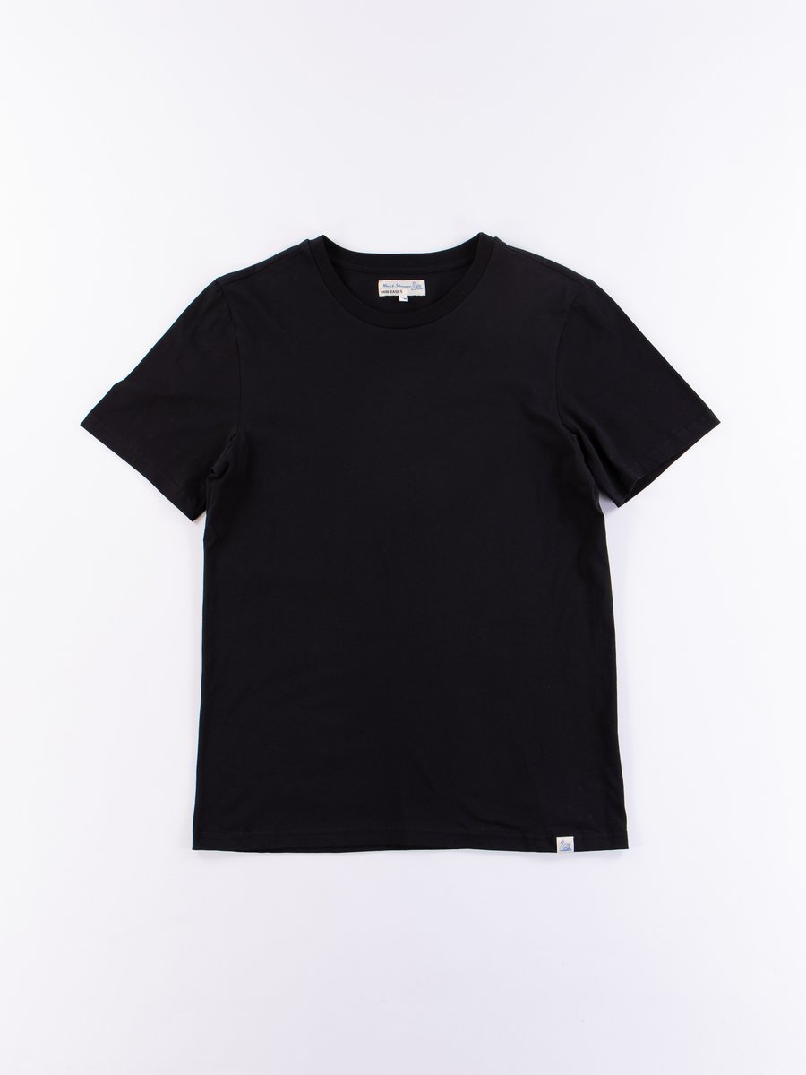 Deep Black Good Basics CT01 Crew Neck Tee