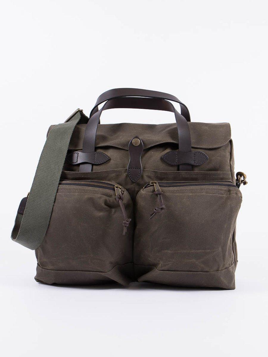 Otter Green 24–Hour Tin Briefcase