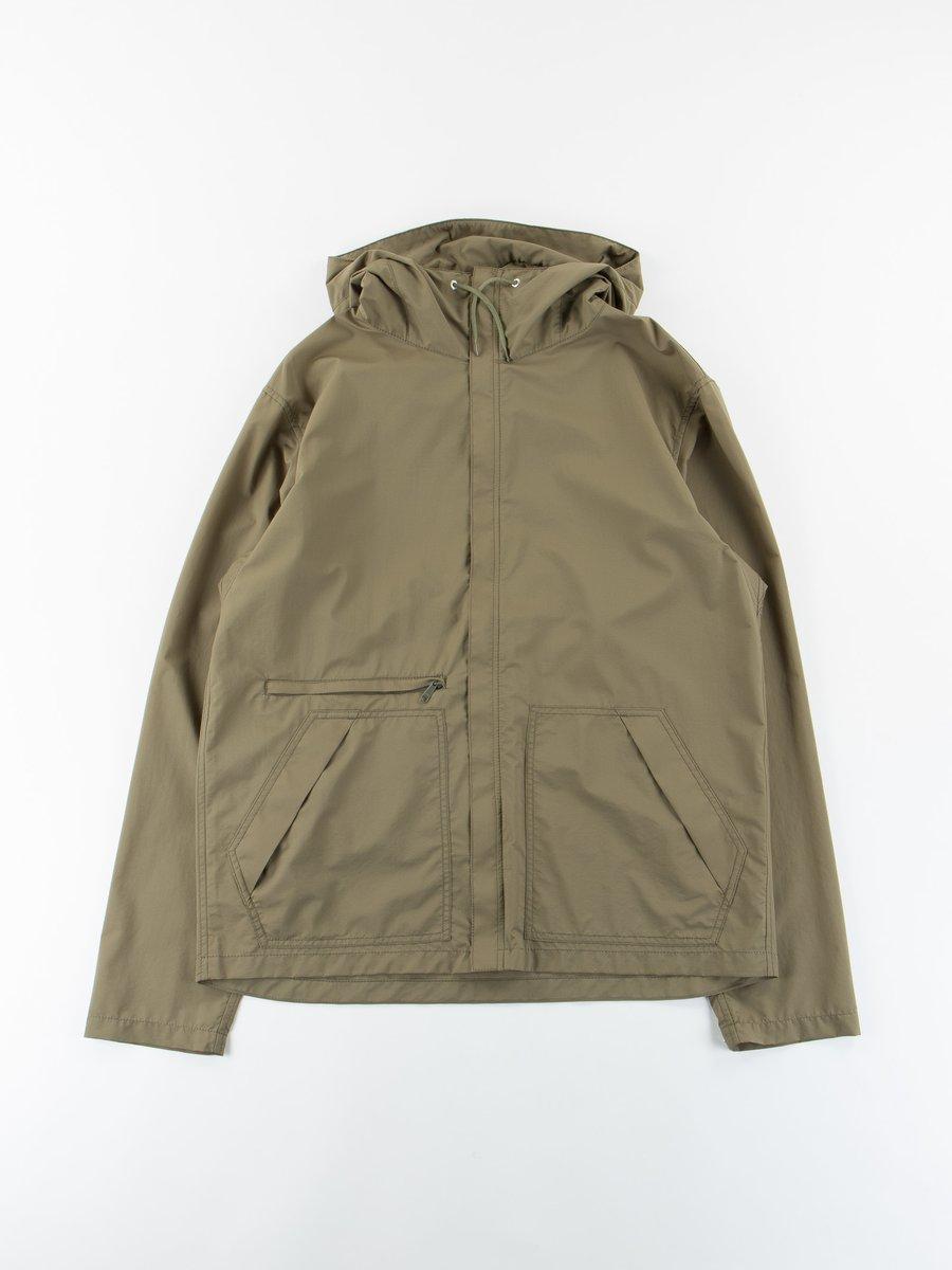 Khaki Packable Jacket