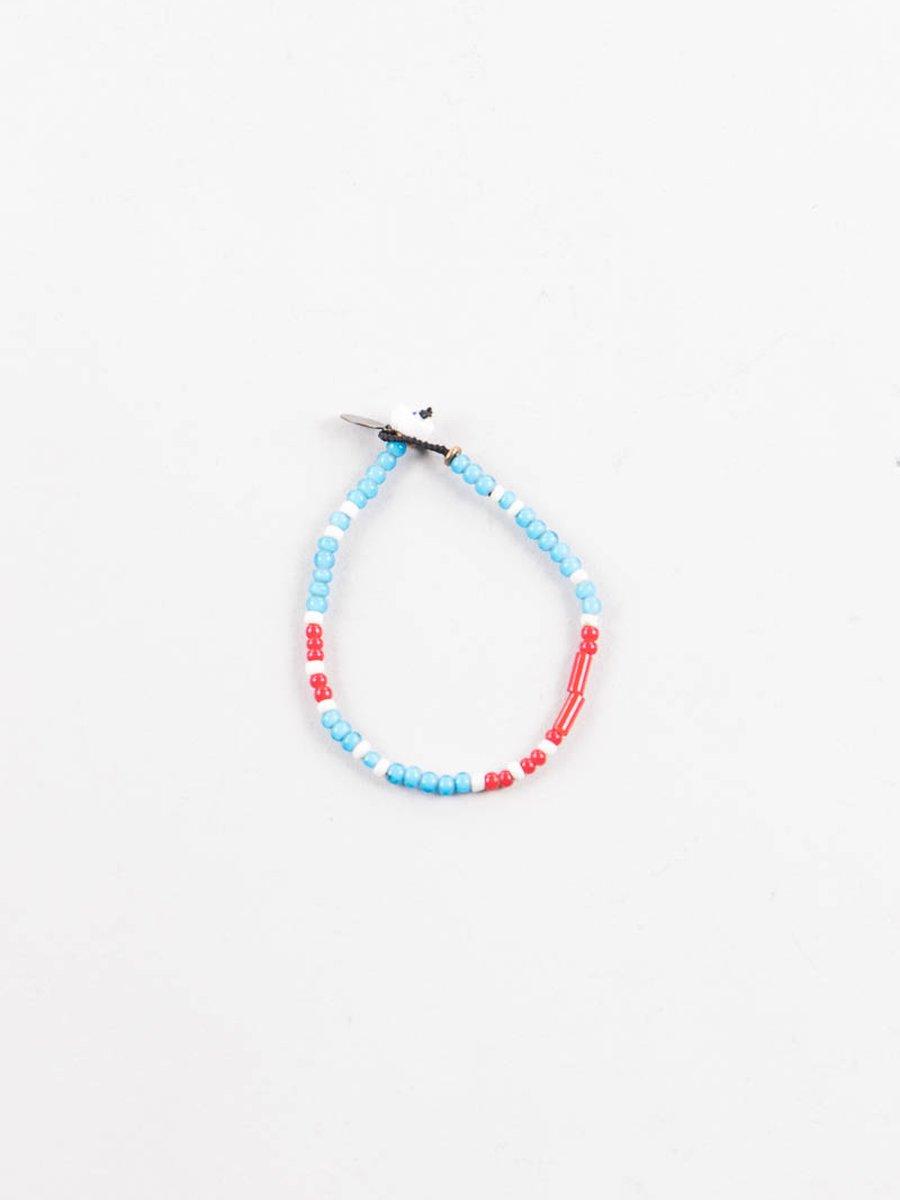 Marine White Hearts Bracelet