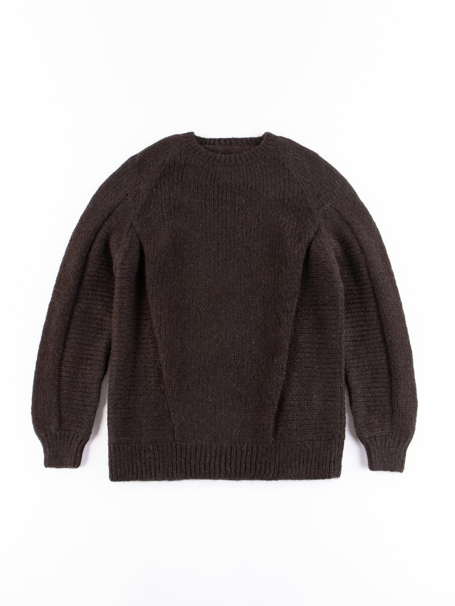 Braun C1–AJ Hand–Knit Air Jet Crewneck Sweater