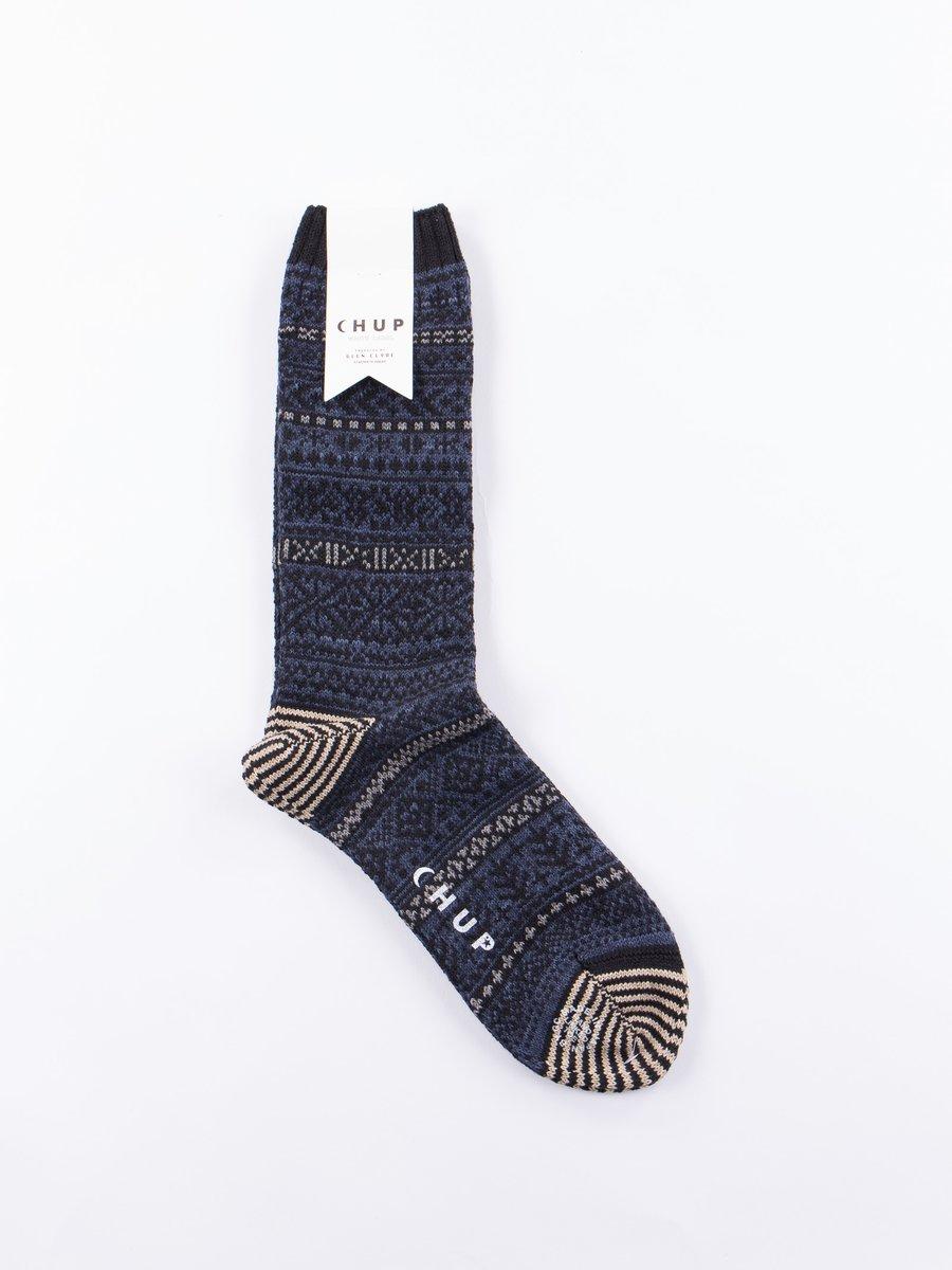Indigo Kogin Socks