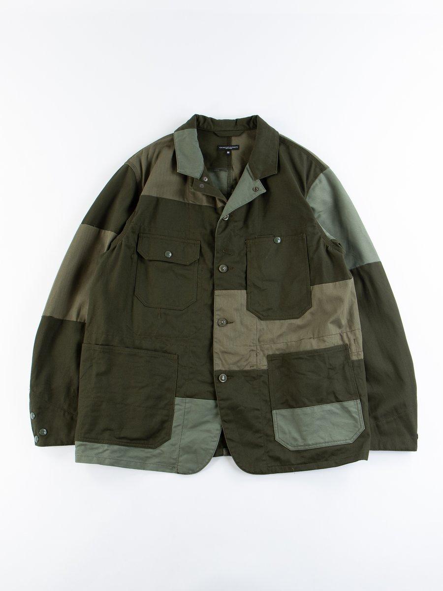 Olive Cotton Heavy Twill Logger Jacket