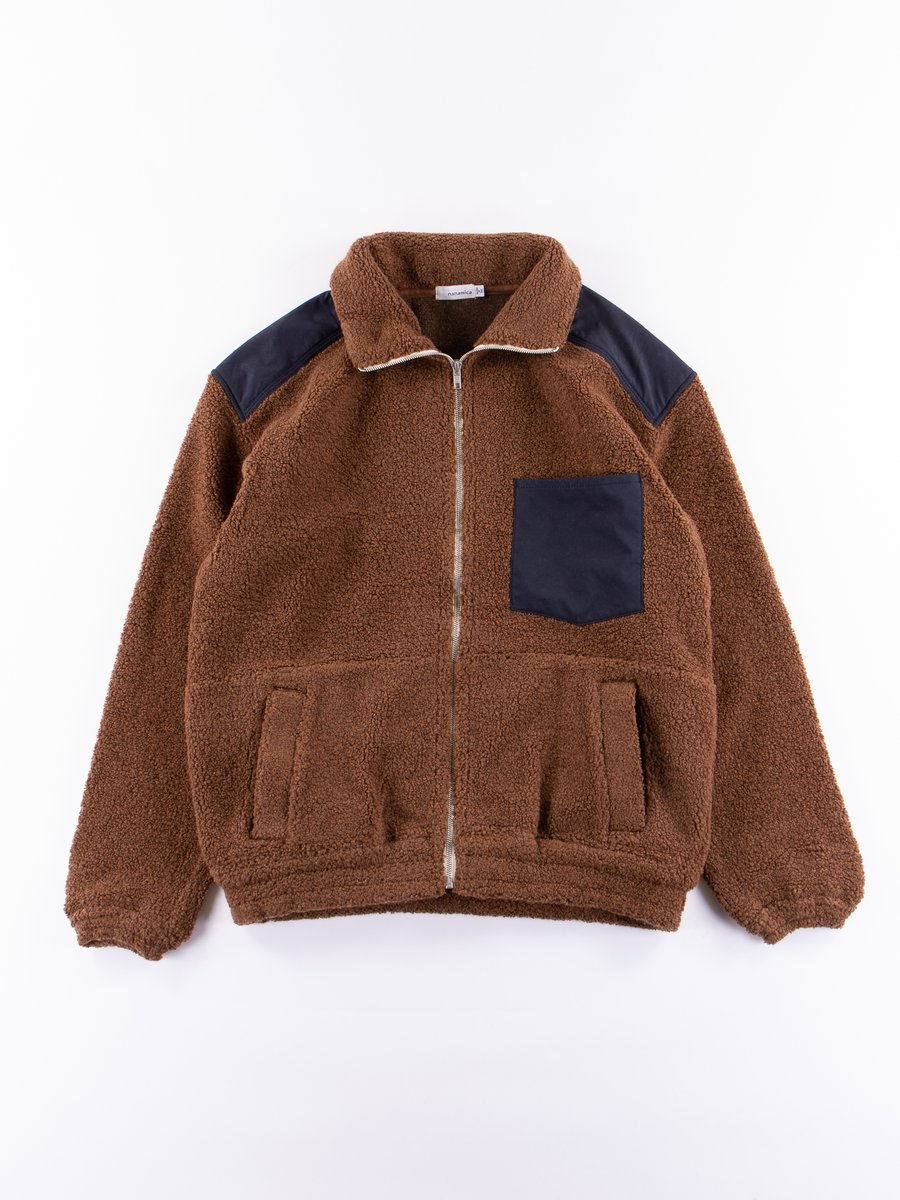 Brown Pile Jacket