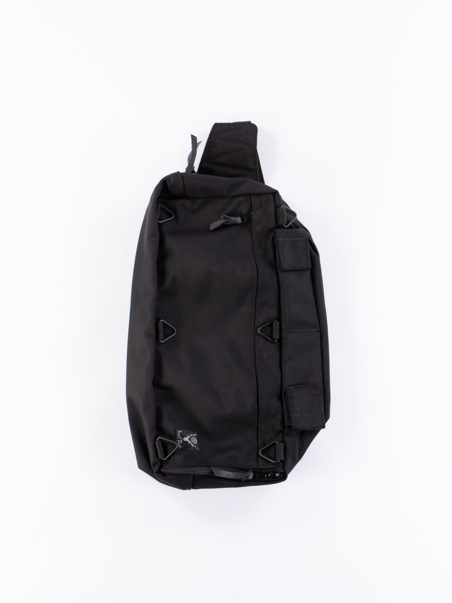 Black Ballistic Nylon Hunter's Field Bag