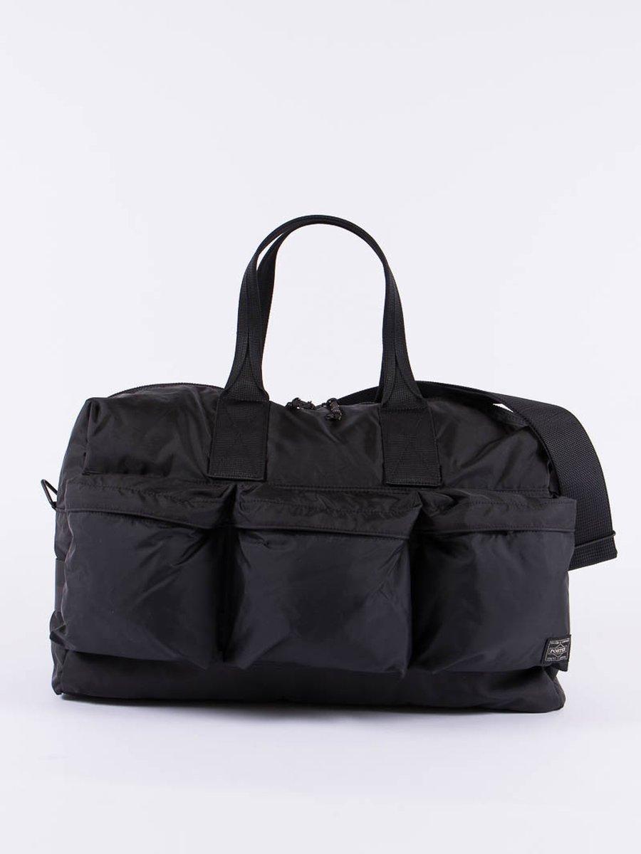 Black Force 2Way Duffle Bag