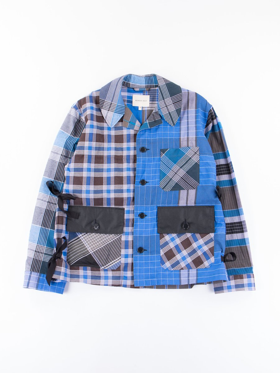 Blue Check Factory Jacket