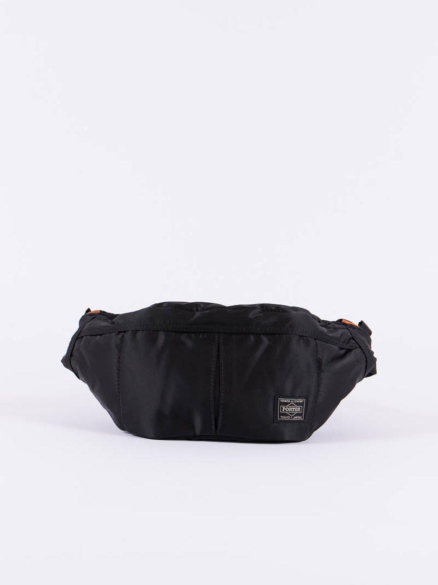 Black Tanker Waist Bag S