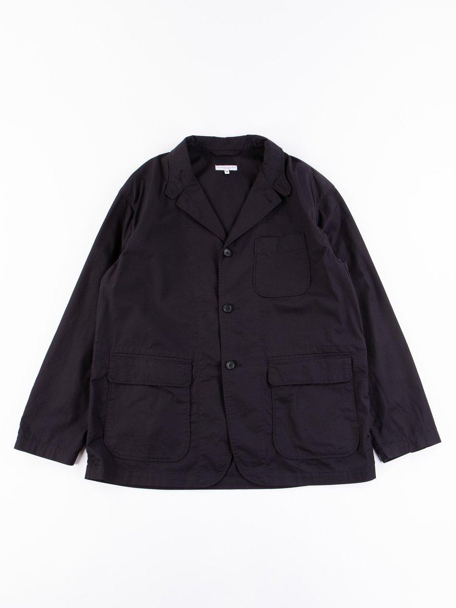 Black Highcount Twill Loiter Jacket