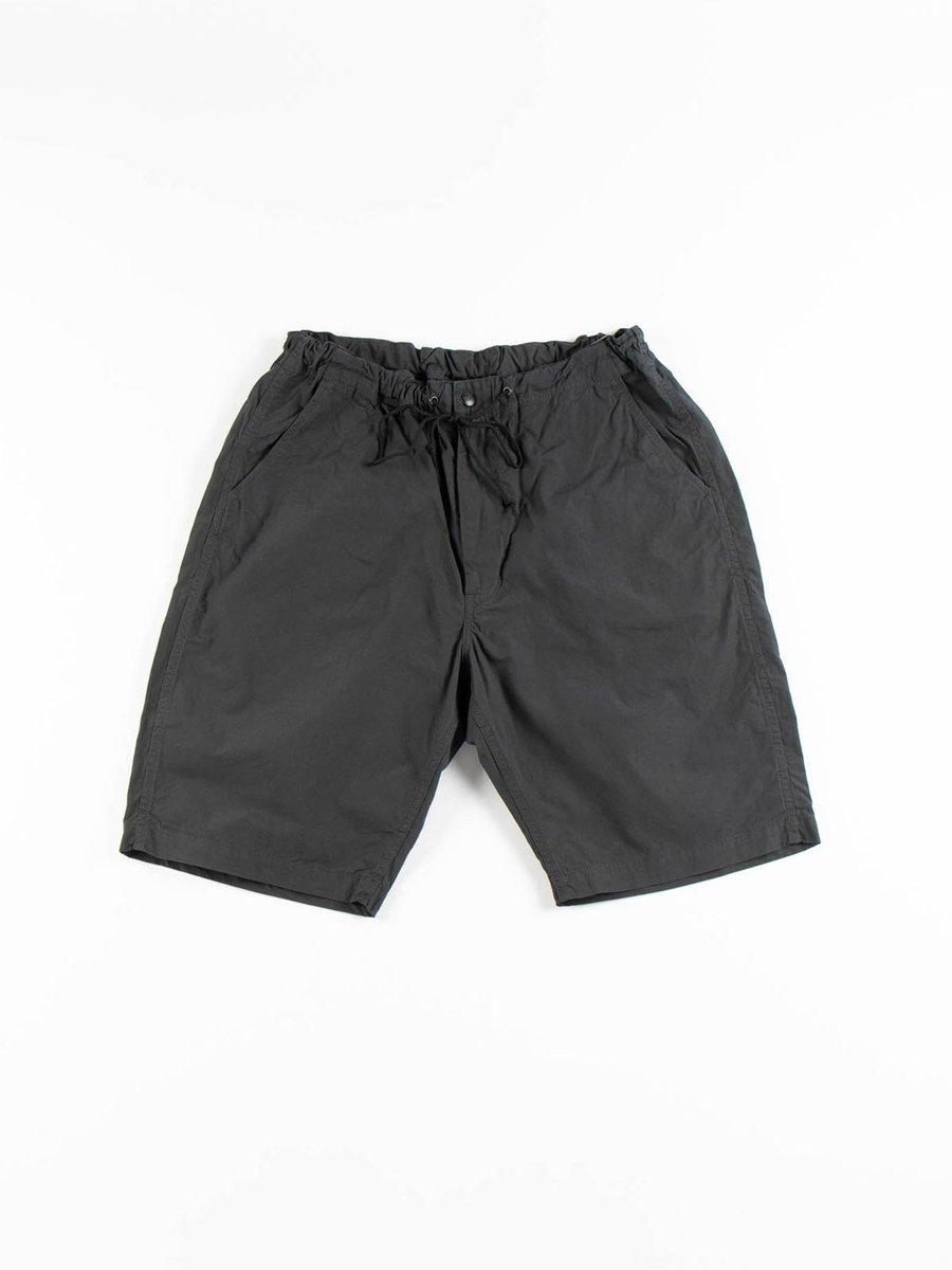 NEW YORKER SHORTS GRAY COTTON TYPEWRITER CLOTH