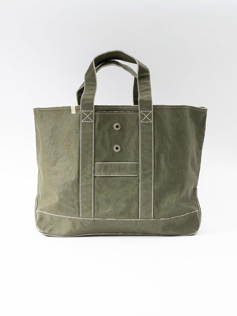 Olive Canvas Homer XL Bag