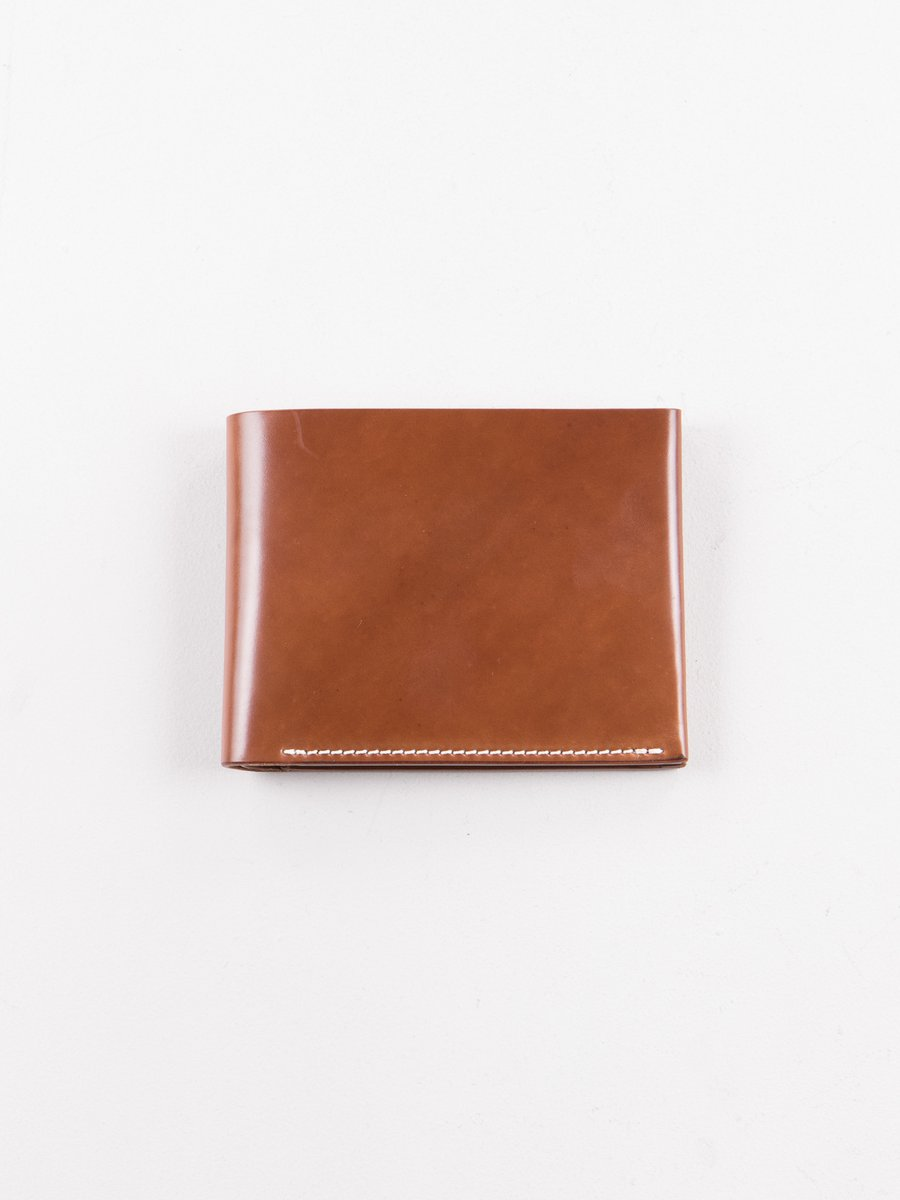 Whiskey Horween Cordovan 4–4 Wallet