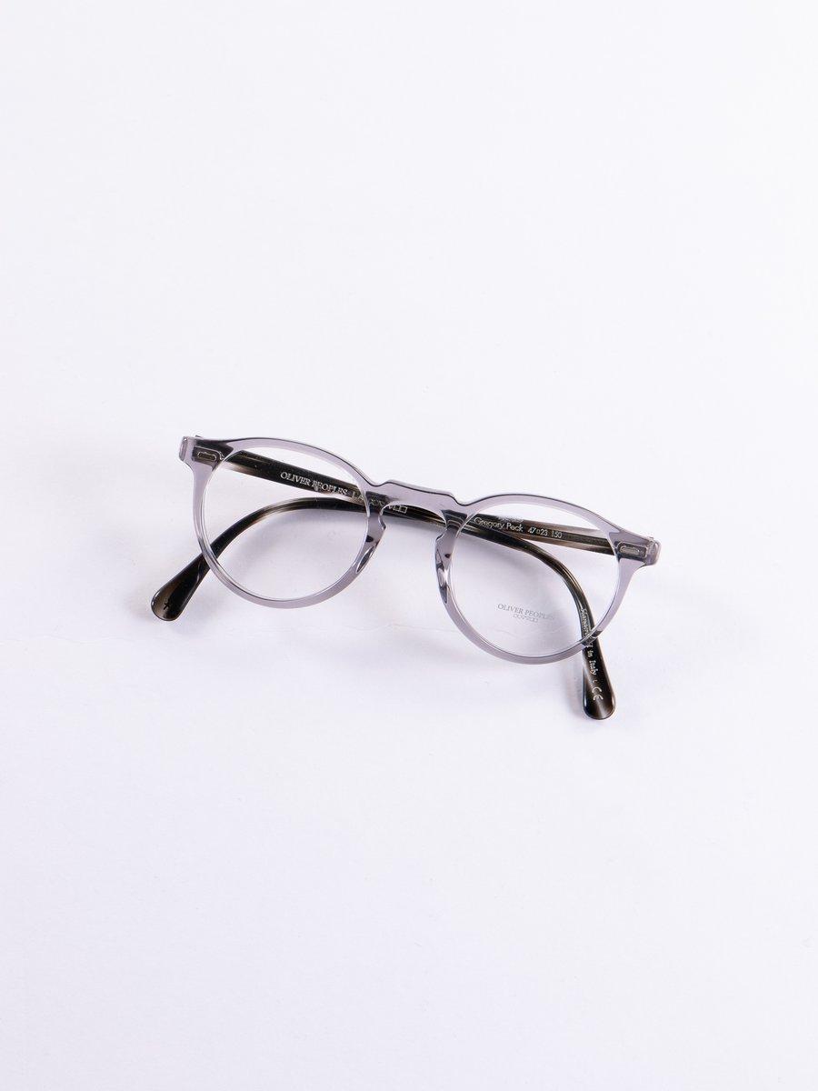 Workman Grey/Ebonywood Gregory Peck Optical Frame