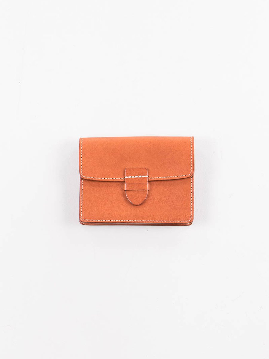 Cognac Italian Calf Small Wallet