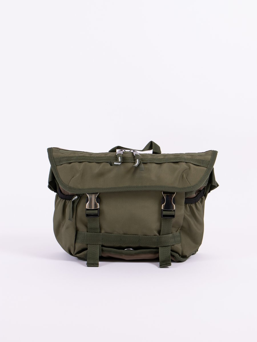 Khaki Loiter Shoulder Bag
