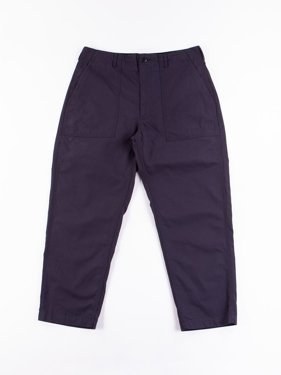Dark Navy Cotton Ripstop Fatigue Pant