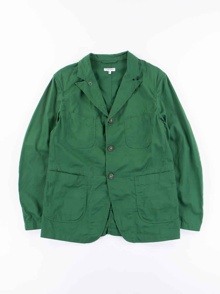 Green 7.5oz Twill Bedford Jacket