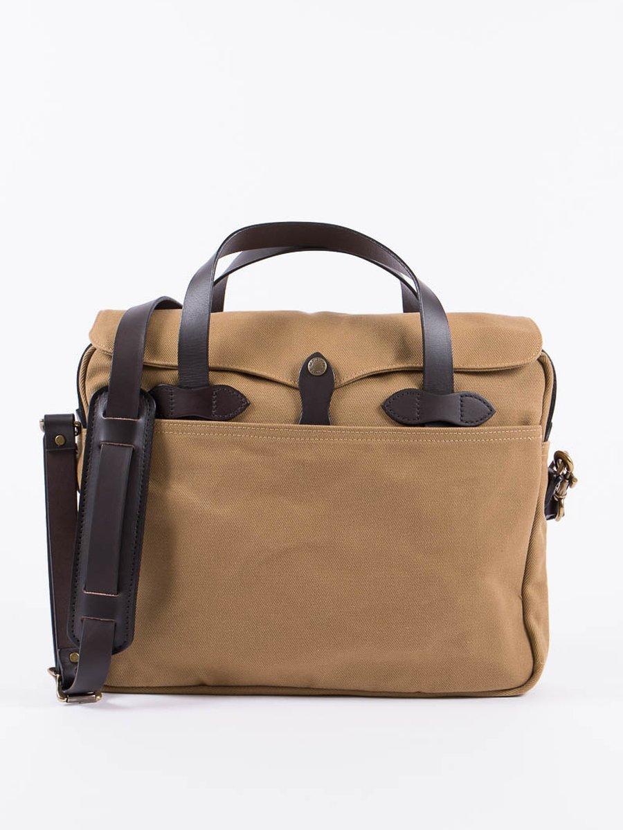 Tan Original Briefcase