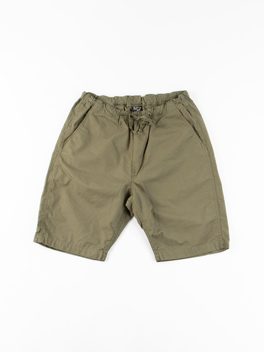 Army Green Ripstop New Yorker Short