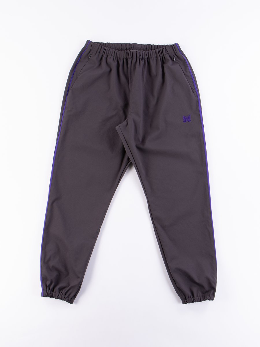 Charcoal Side Line Seam Pocket Easy Pant