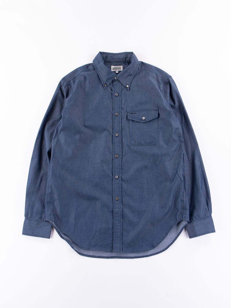 Indigo Cotton Denim BD Shirt