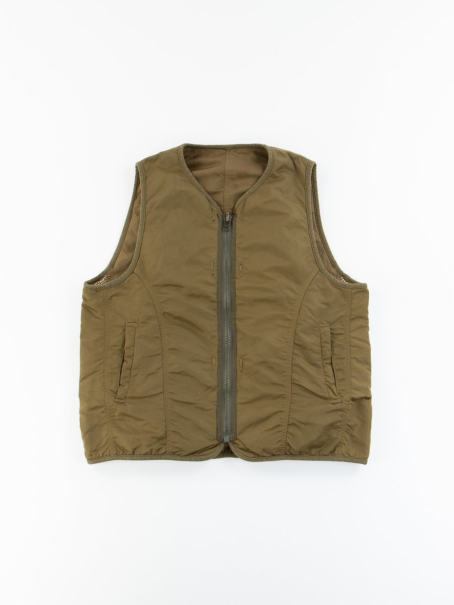 Khaki Iris Liner Vest