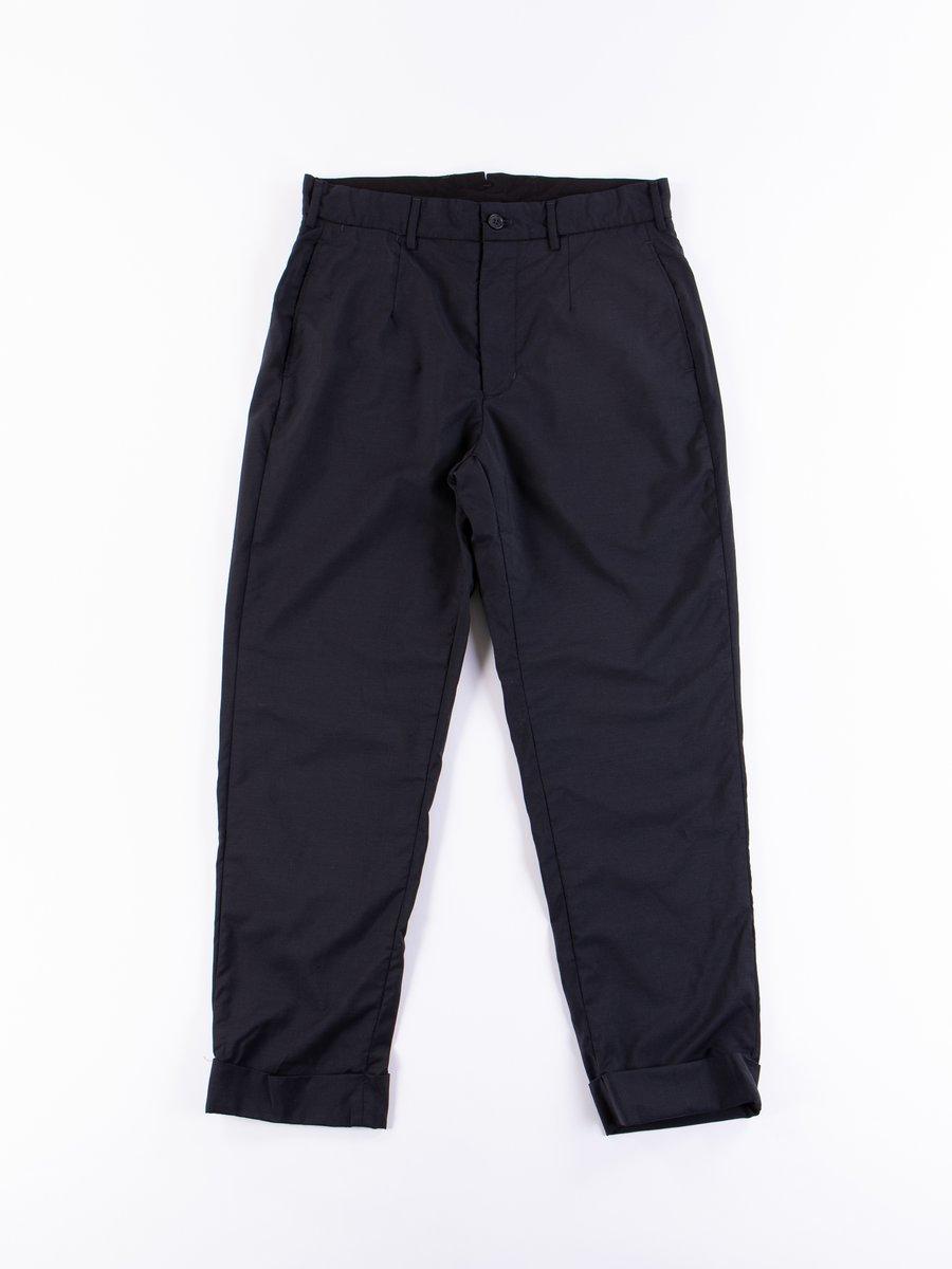 Dark Navy Tropical Wool Andover Pant