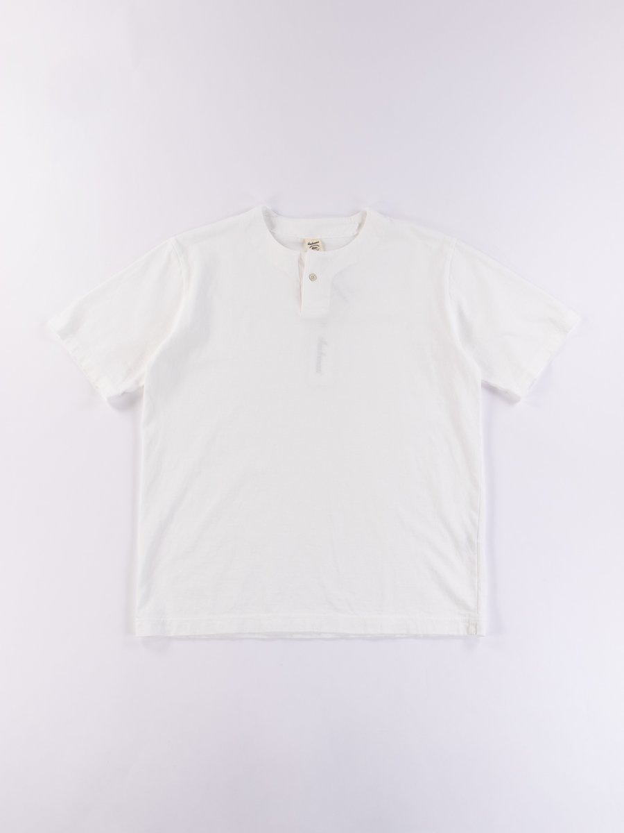 White Henley T–Shirt