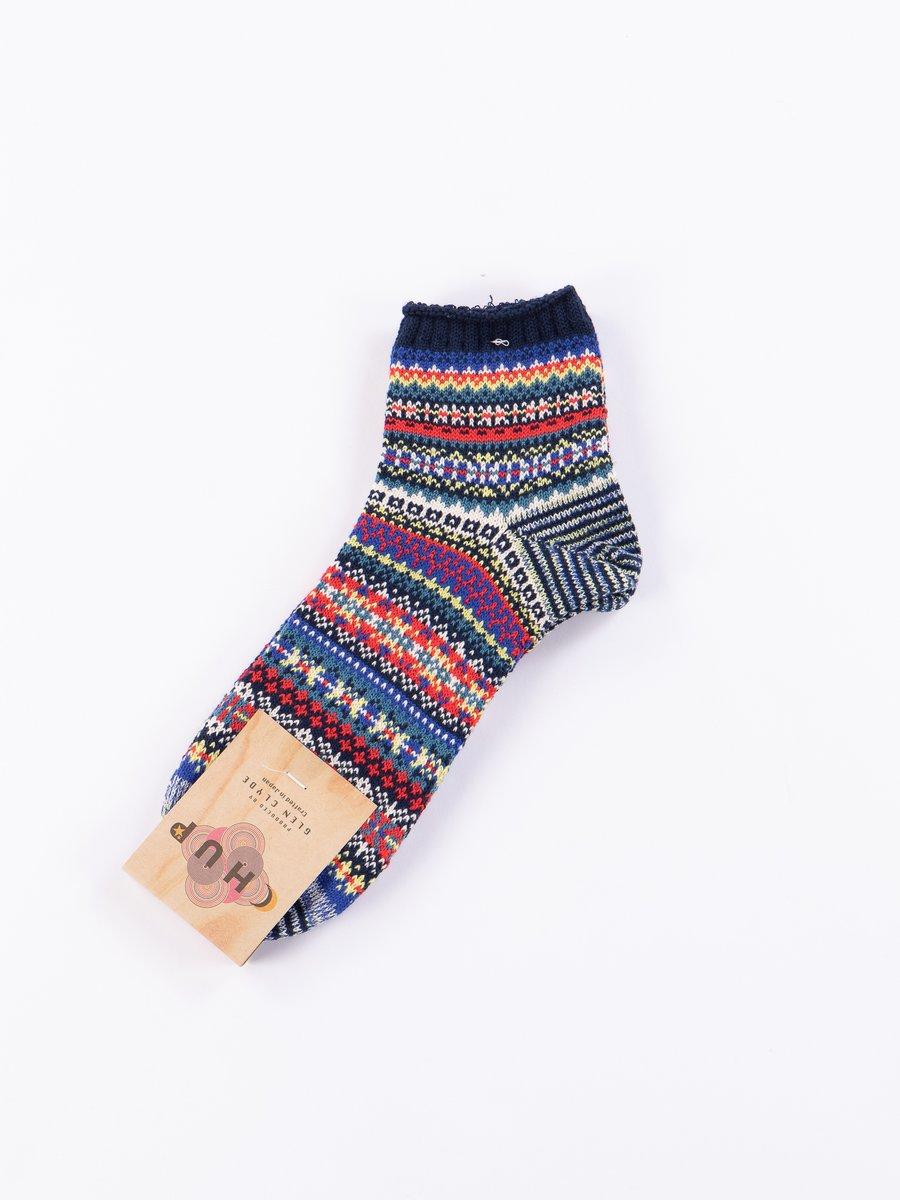 Navy Majbrasa Socks