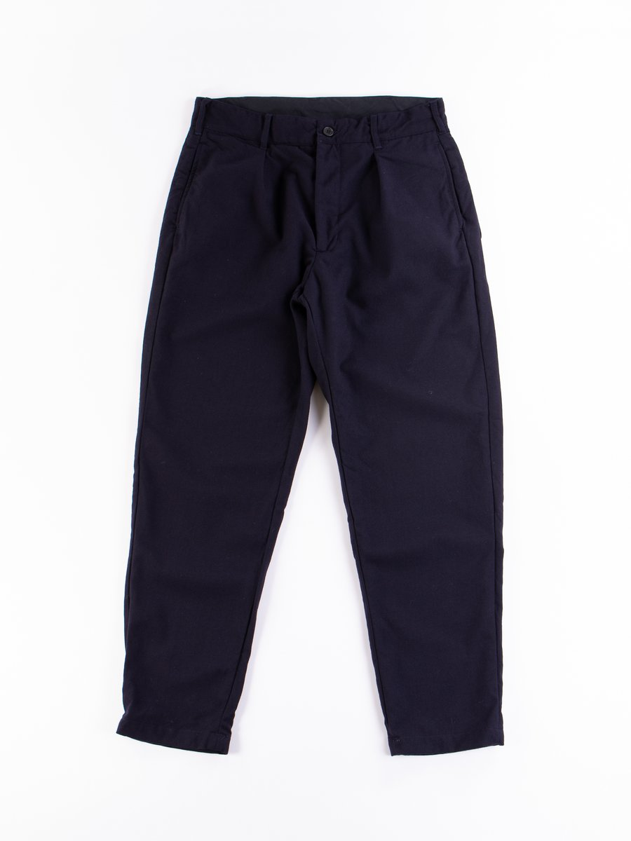 Dark Navy Wool Uniform Serge Carlyle Pant