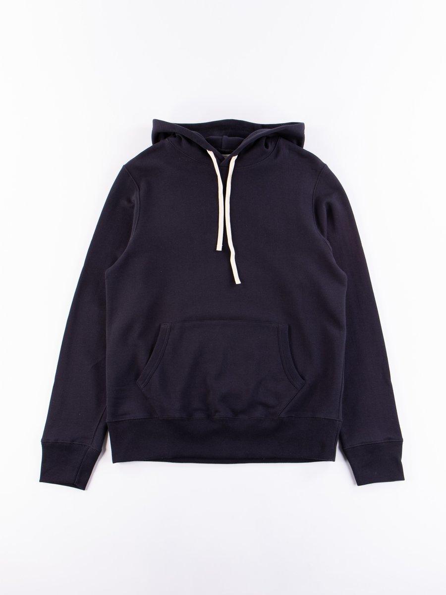 Night Blue 382 Organic Cotton Hooded Sweatshirt