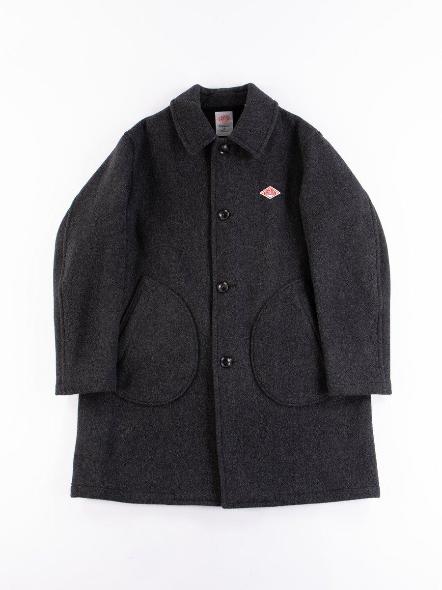 Charcoal Mossa Wool Coat