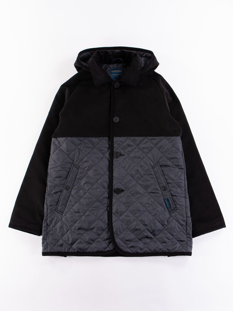 Lamp Black Spilt Denson Jacket