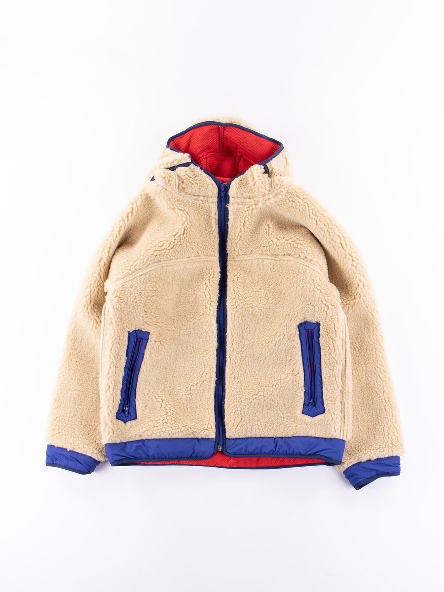 Beige/Royal Blue Rabbit Hoodie