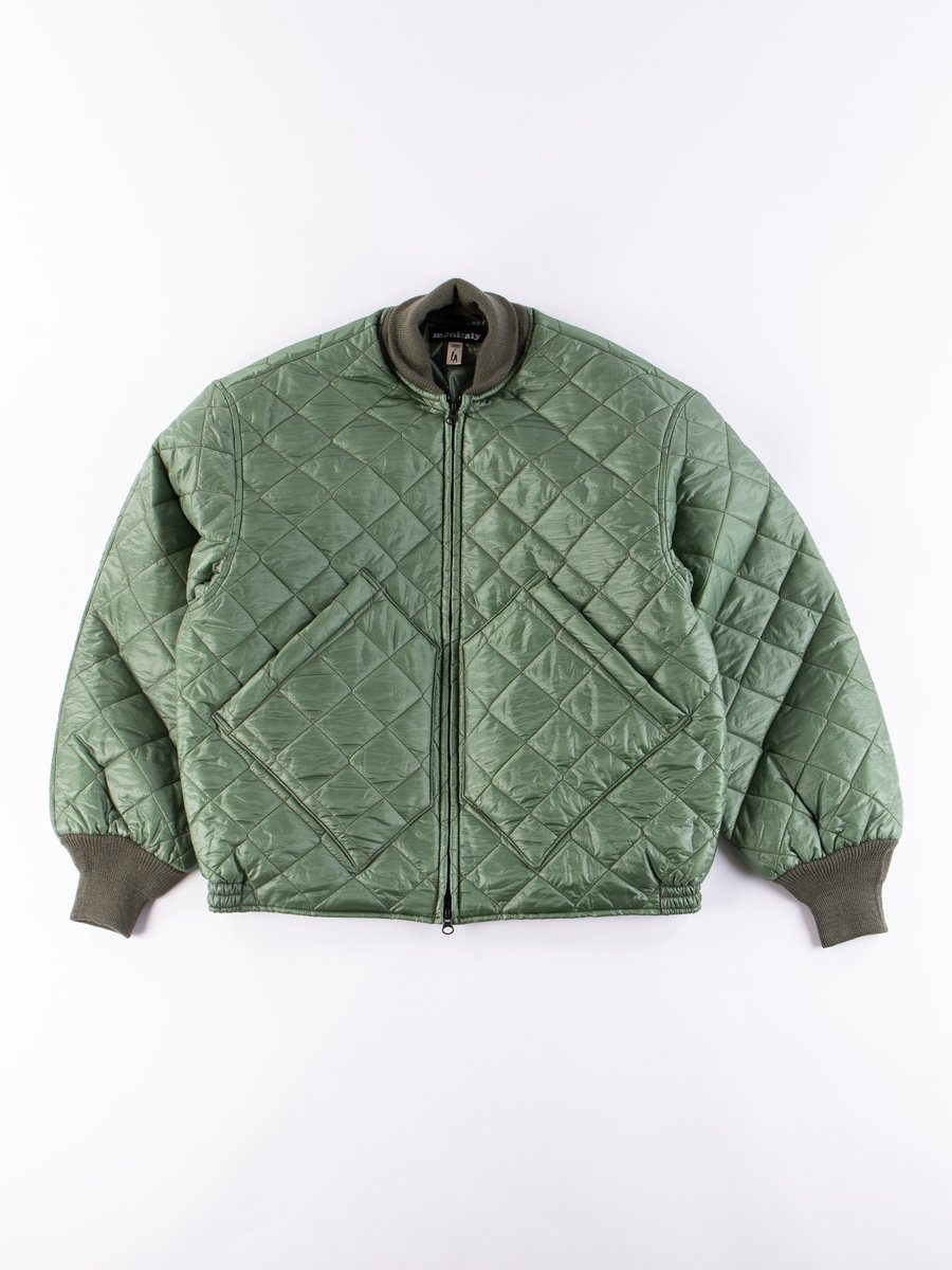 Green 7oz Zigzag Dotera Fill Skyliner Jacket