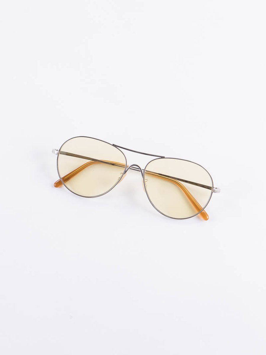 Brushed Silver/Yellow Wash Rockmore Sunglasses