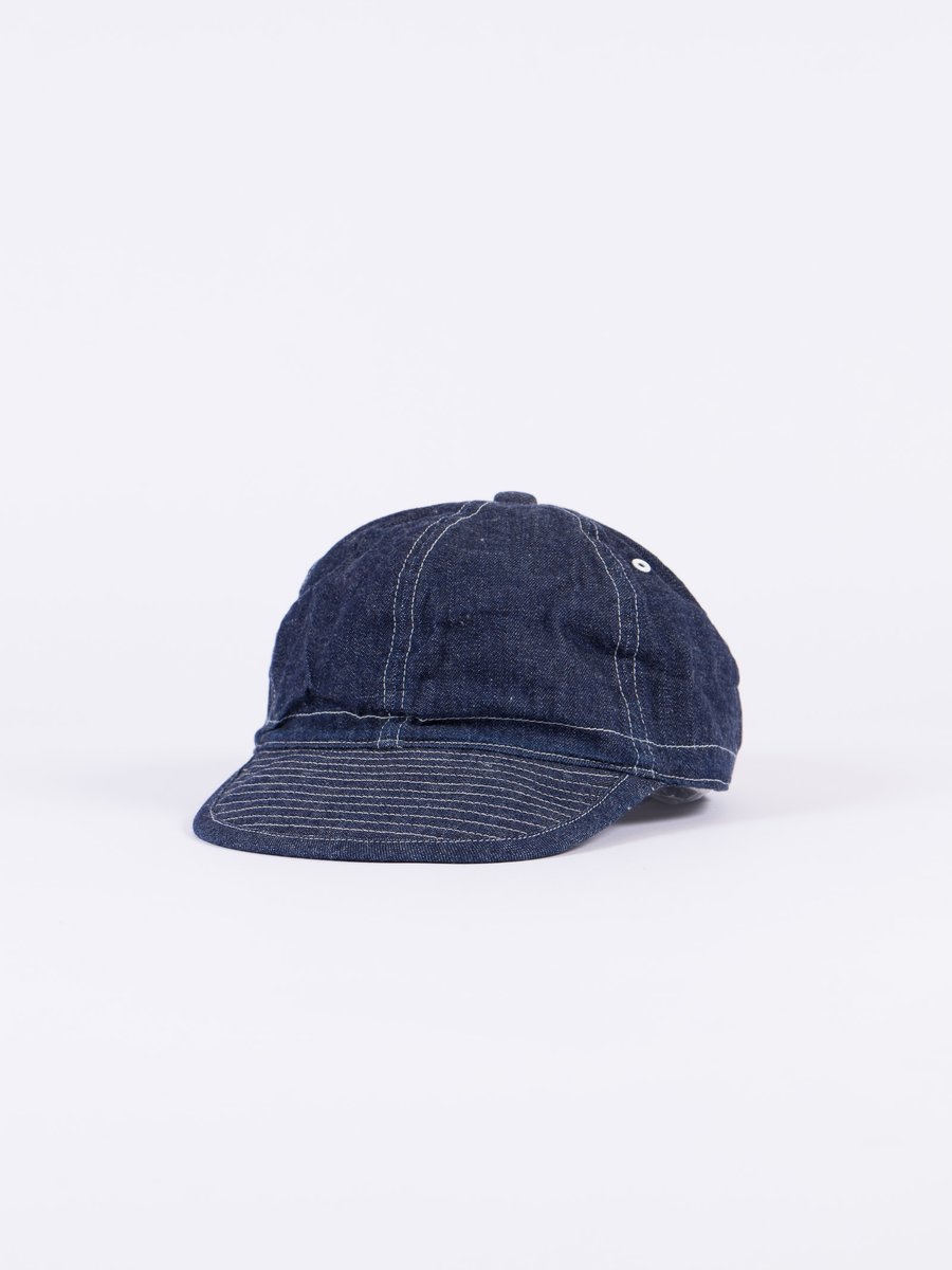 Denim Army Cap