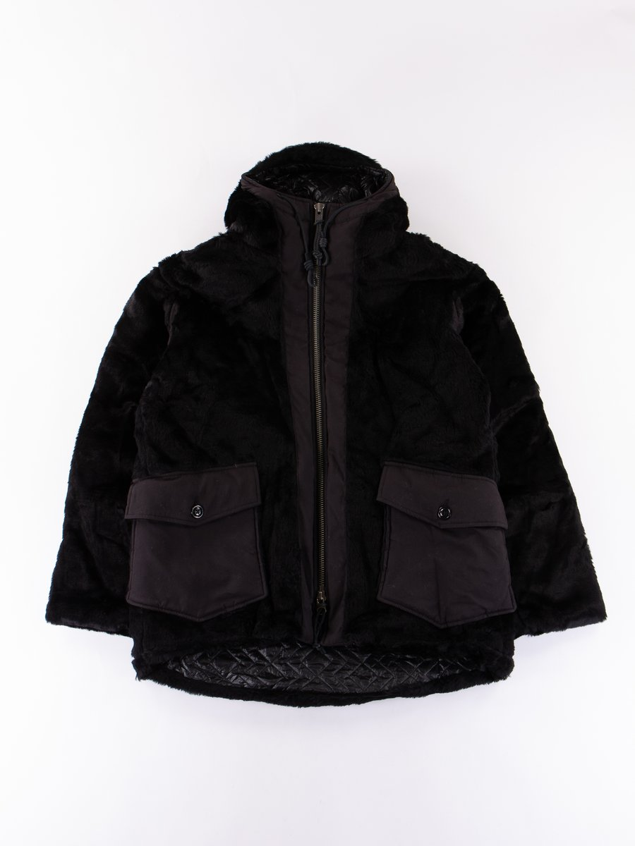 Black Kodiac Fur Coat