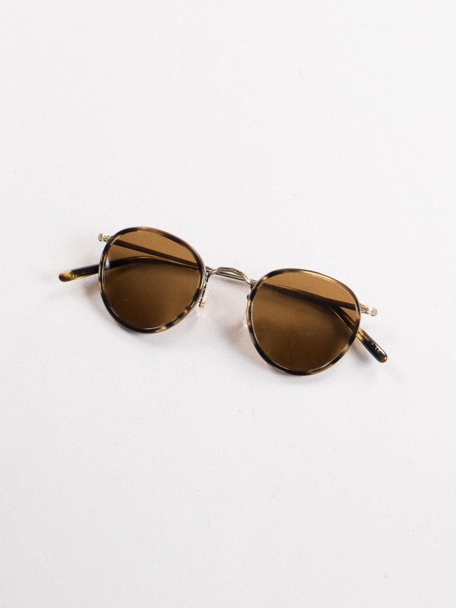 Cocobolo/Antique Gold MP–2 30th Anniversary Sunglasses