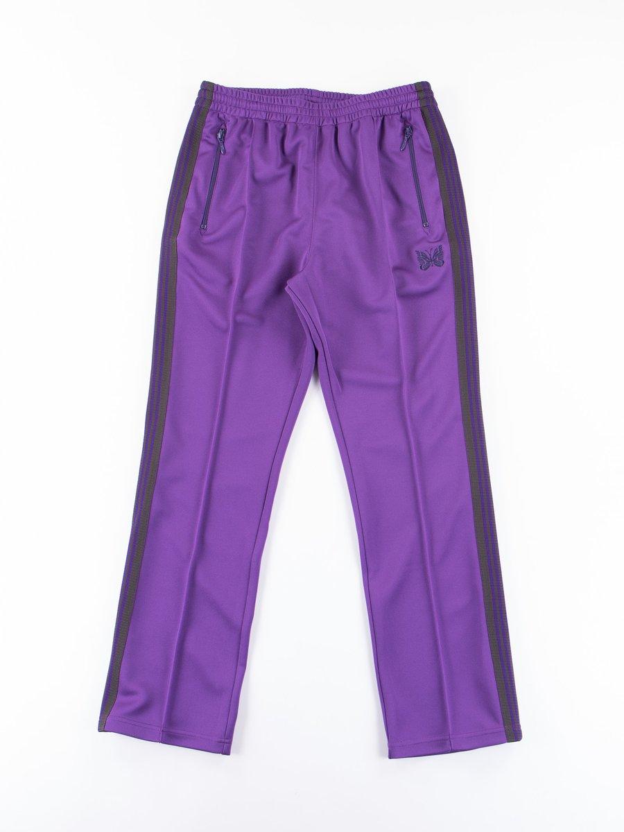 Purple Narrow Track Pant