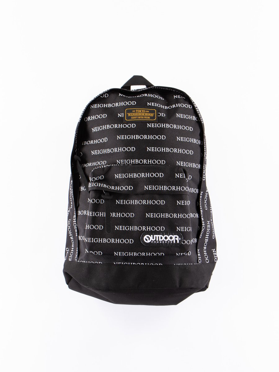 Black Logo Large Day Pack