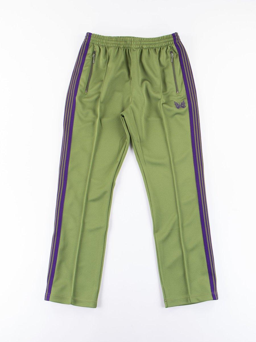 Light Green Narrow Track Pant