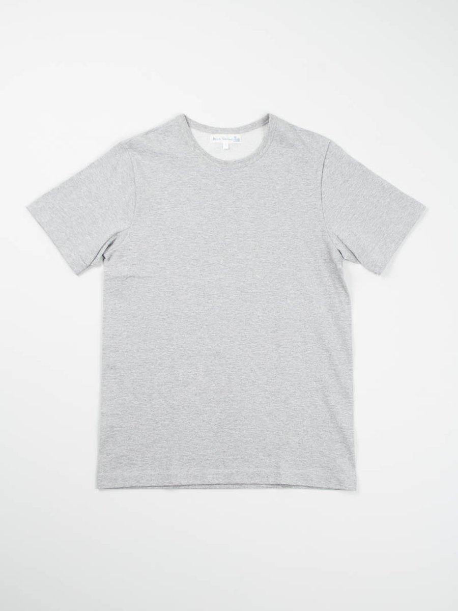 Grey Melange 215 Organic Cotton Army Shirt