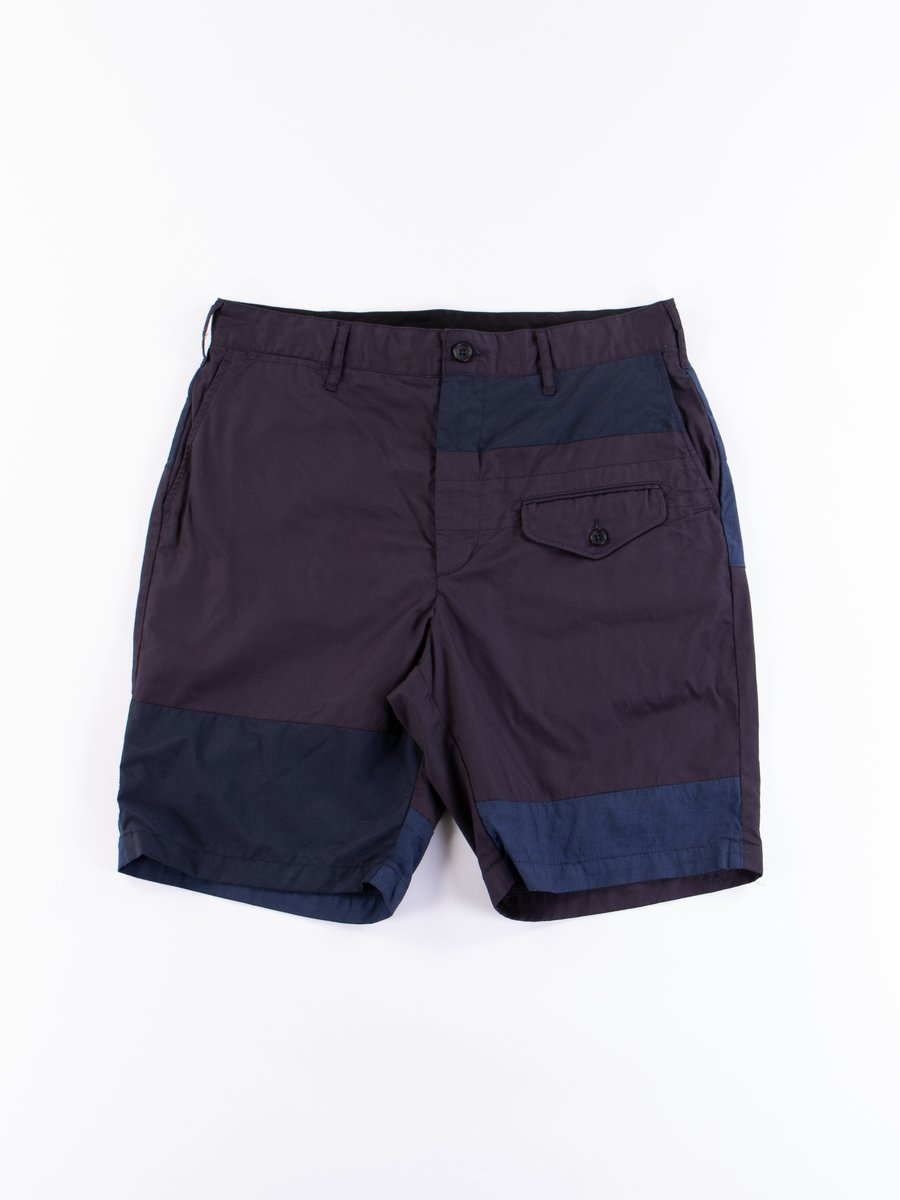 Dark Navy High Count Twill Ghurka Short