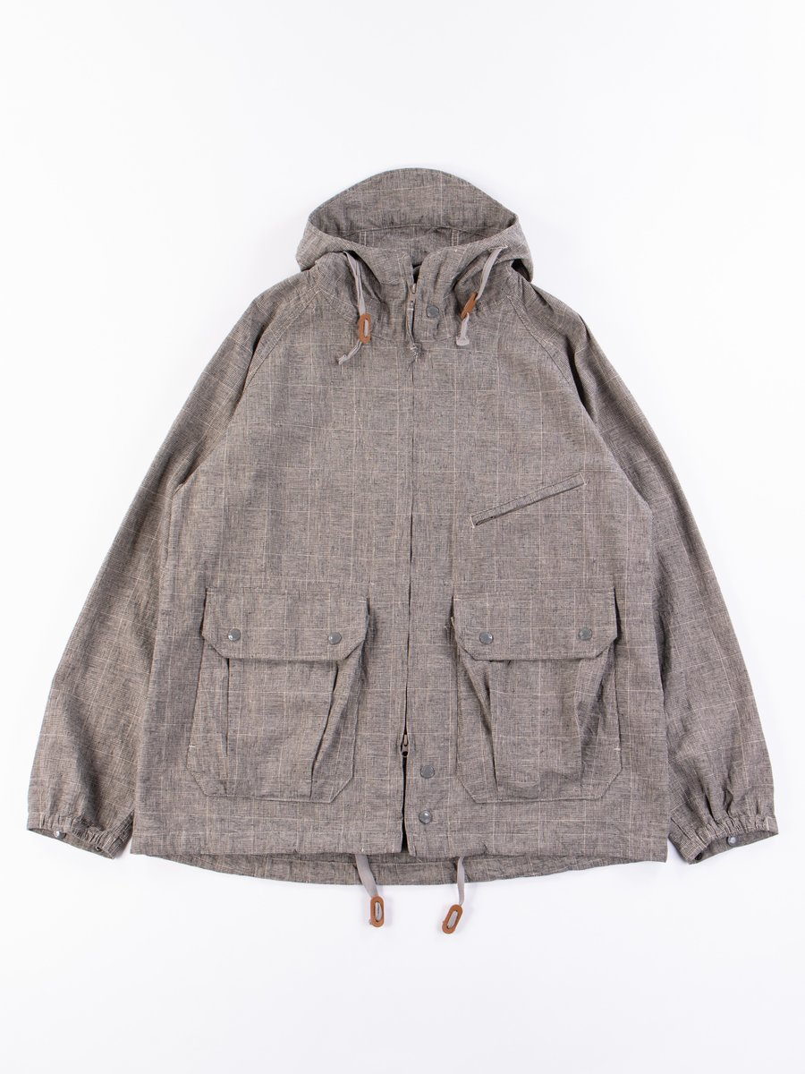Grey CL Glen Plaid Atlantic Parka