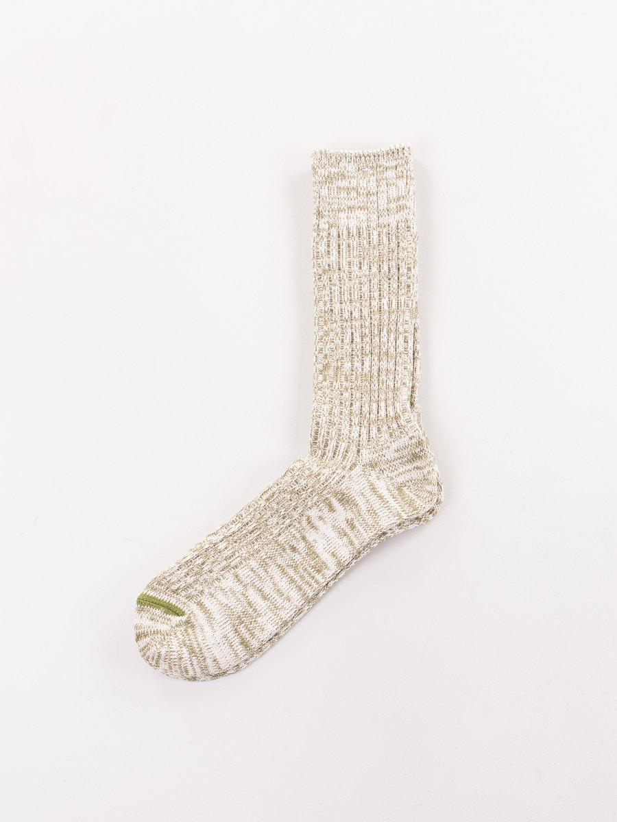 Khaki Go Hemp Speckle Socks