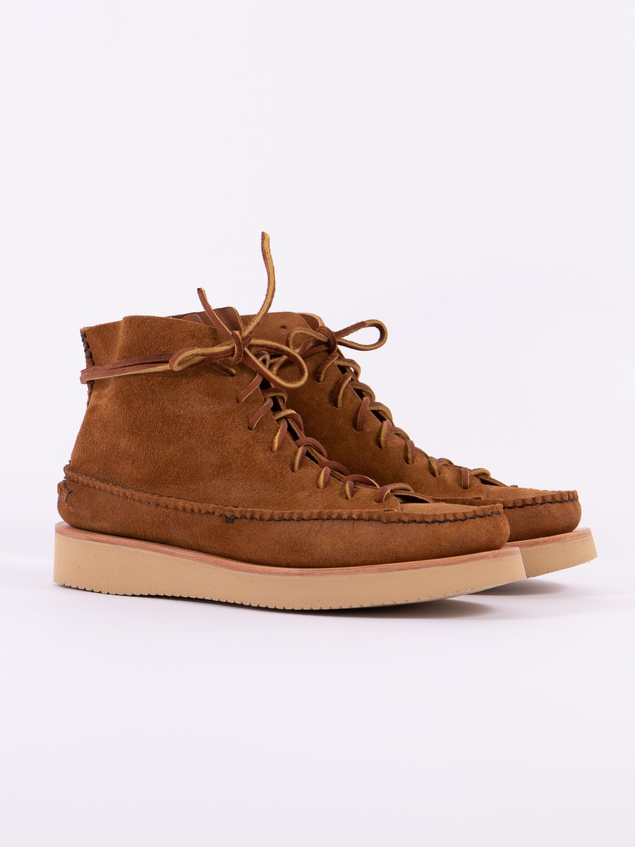Golden Brown All Handsewn Sneaker Moc High Boot