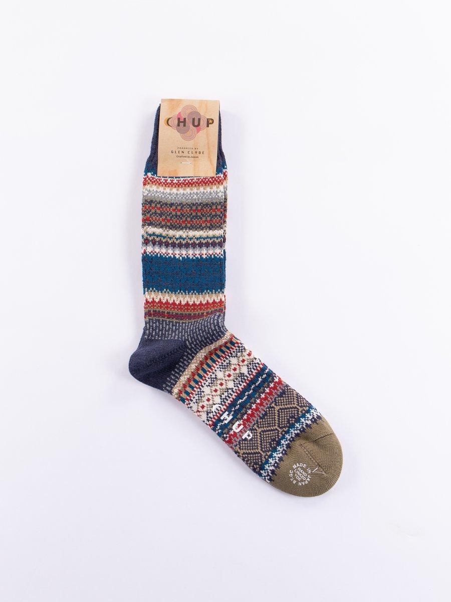 Cobalt Mezs Socks
