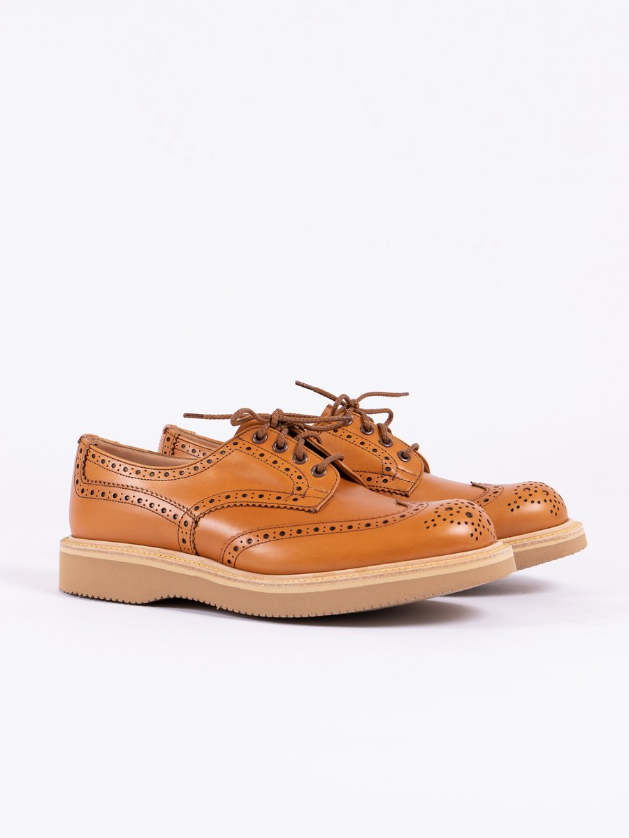 Acorn Antique Brogue Bourton Shoe