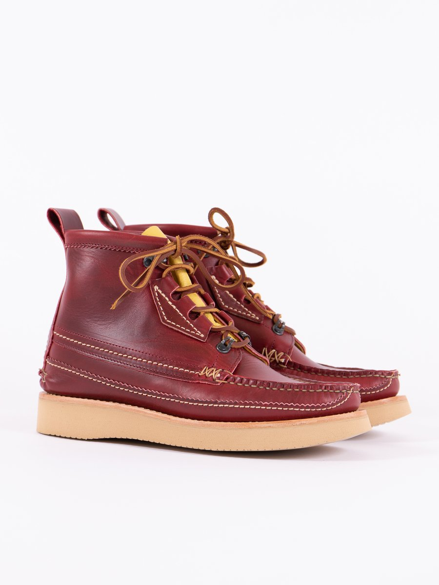 C Red Maine Guide 6 Eye Quebec DB Boot Exclusive